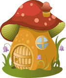 fairytale house.illustration of fairytale house Royalty Free Stock Images