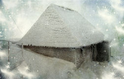 Fairytale house in the mountains Stock Photos