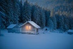 Fairytale hut Royalty Free Stock Image