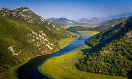 Fairytale lands of Montenegro Stock Photography