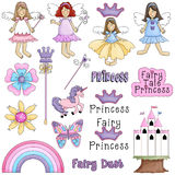 Fairytale Princess Stock Image