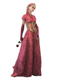 Fairytale Princess, 3d CG CA Stock Photo
