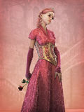 Fairytale Princess, 3d CG Stock Image
