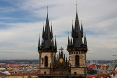 Fairytale rooftops Royalty Free Stock Images