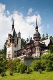 Fairytale royal castle Royalty Free Stock Photo