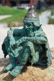 Fairytale sculpture on the Geelong waterfront stock photo