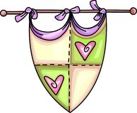 FAIRYTALE SHIELD Royalty Free Stock Images