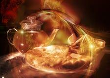 Fairytale Tea-drinking Stock Photo