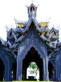 Fairytale Thai Pavilion Royalty Free Stock Photography