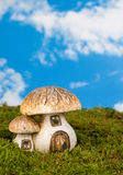 Fairytale toadstool Stock Photo