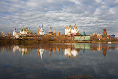 Fairytale town in Moscow Royalty Free Stock Photography