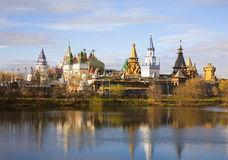 Fairytale town in Moscow Stock Photography