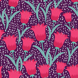 Fairytale tulips Royalty Free Stock Photo