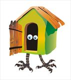 Fairytale wat op kippenbenen huisvesten Stock Foto's
