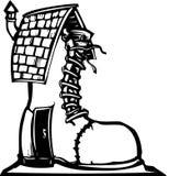 Fairytale Shoe House Stock Photos