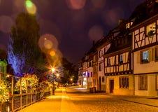 Fairytalehuizen in Colmar 6 Stock Afbeeldingen