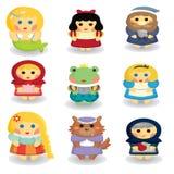 Fairytalekarakters Stock Afbeelding