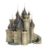 Fairytalekasteel Royalty-vrije Stock Afbeeldingen