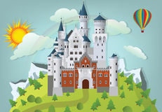 Fairytalekasteel Stock Foto