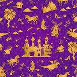 Fairytalepatroon Royalty-vrije Stock Afbeeldingen