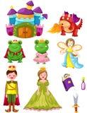 Fairytalereeks Stock Afbeeldingen