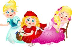 Fairytales Princesses Royalty Free Stock Photo