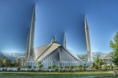 Faisal Masjid Stockfotografie
