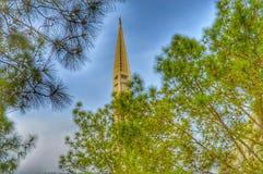Faisal Moschee lizenzfreie stockbilder