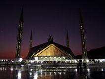 Faisal mosque Royalty Free Stock Images
