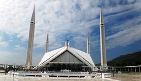 Faisal Mosque, Islamabad Foto de archivo