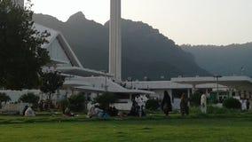 Faisal mosque Islamabad royalty free stock image