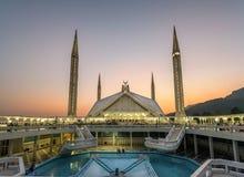 Faisal Mosque Islamabad Pakistan Lizenzfreie Stockbilder