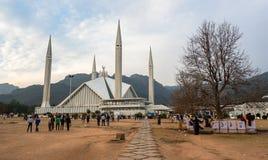 Faisal Mosque in Islamabad, Pakistan Stockbild
