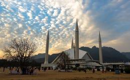 Faisal Mosque in Islamabad, Pakistan Stockfotos