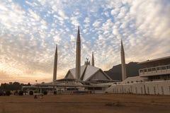 Faisal Mosque in Islamabad, Pakistan Lizenzfreies Stockfoto