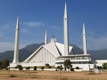 Faisal Mosque in Islamabad, Pakistan