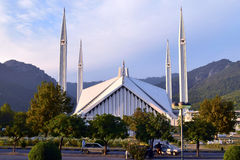 Faisal Mosque Royalty Free Stock Photography