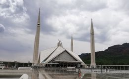 Faisal Mosque, Paquistão Foto de Stock