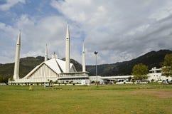 faisal shah мечети islamabad стоковые изображения