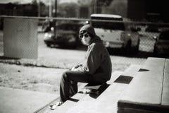 Faisant de la planche à roulettes à Memphis, le Tennessee Photo libre de droits