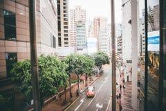 Faisant des emplettes sur la baie de chaussée en Hong Kong, la Chine Photographie stock libre de droits