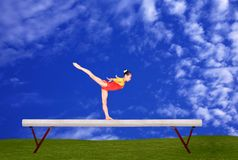 Faisceau d'équilibre Photo stock