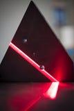 faisceau de lecture du laser 3D Images libres de droits