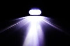 Faisceau de lumière de lampe-torche Photo libre de droits