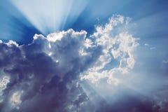Faisceau de Sun Photos libres de droits