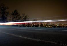 Faisceau lumineux Photos libres de droits