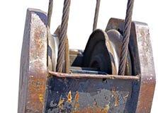 Faisceau supérieur de mobile de grue Photo libre de droits