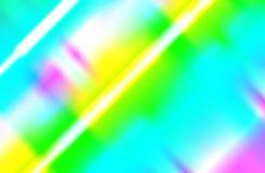 Faisceaux d'arc-en-ciel de lumi?re illustration stock