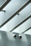 Faisceaux de plafond Images stock