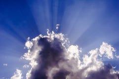 Faisceaux de Sun Photographie stock libre de droits
